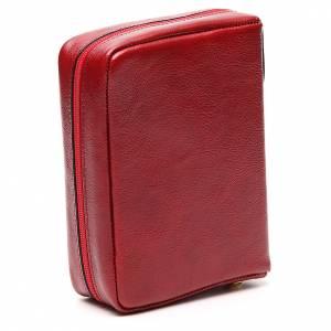 Couverture Missel Quotidien cuir rouge Alpha Oméga s3