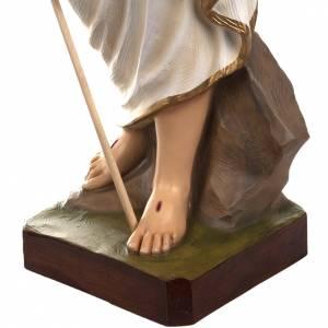 Cristo resucitado 85 cm fibra de vidrio s5