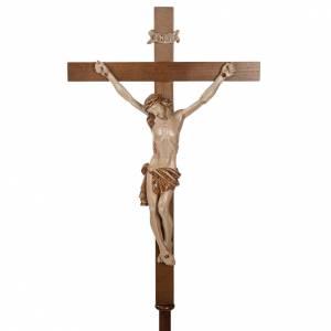 Croix de procession en bois de noyer s3