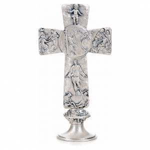 Croix de table argentée images déposition, s1