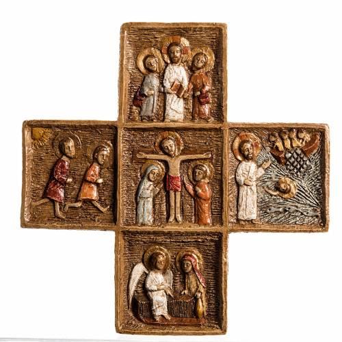 Croix Pascale 16 cm pierre Bethléem s1