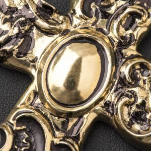 Croix pectorale en argent 800 bronzé s5