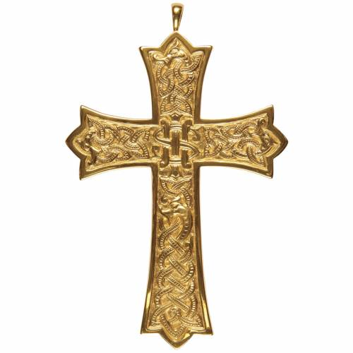 Cross for bishops by Molina in sterling silver s1