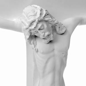 Crucifixion Scene bas-relief in reconstituted carrara marble s3