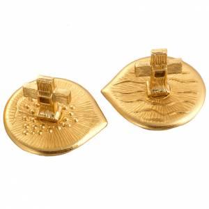 Cruet set in gold-plated molten bronze s5