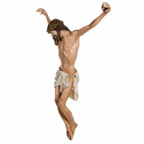 Cuerpo de Cristo  100 cm en fibra de vidrio s7