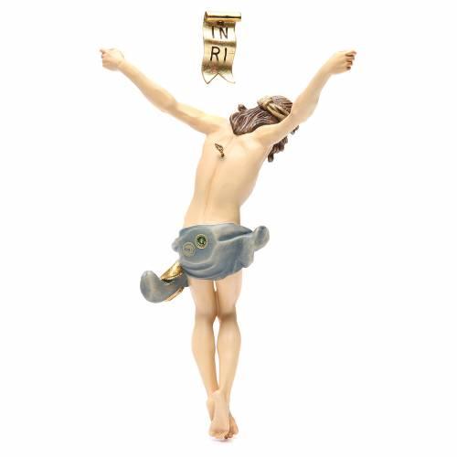 Cuerpo de Cristo modelo Corpus madera coloreada Valgardena s2