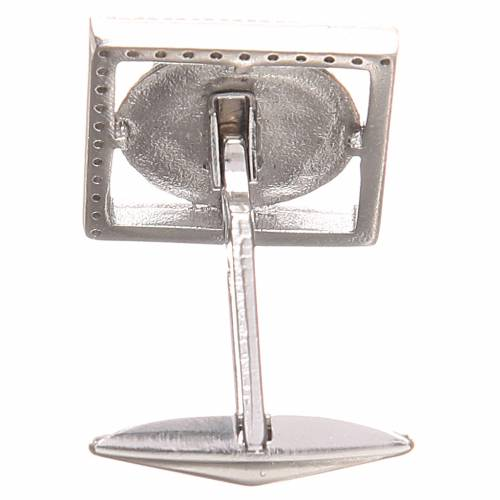 Cufflinks Silver 800, PAX symbol 1,7x1,7cm s2