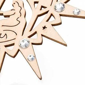 Decoraciones navideñas estrella tallada belen Swarovski t s2