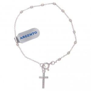 Silver bracelets: Dozen rosary bracelet in 925 sterling silver