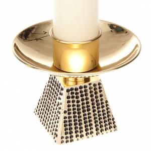 Duo de chandelier, base carrée s4