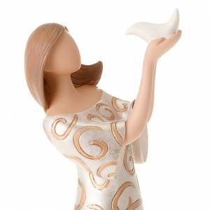 Estatua mujer con paloma Legacy of Love s6