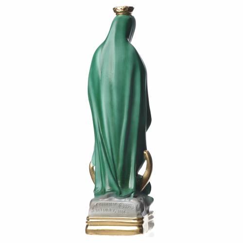 Estatua Virgen de Guadalupe 30 cm. yeso s3