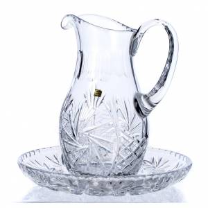 Ewers and Basins: Ewer in crystal