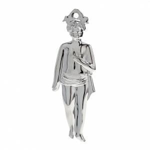 Ex voto bambino argento 925 o metallo 15 cm s1
