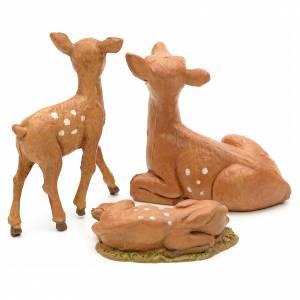 Familia de ciervos 12 cm Fontanini s2