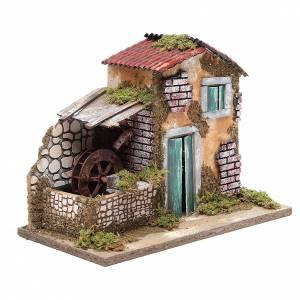 Farmhouse for nativities measuring 24.5x33x18cm s3