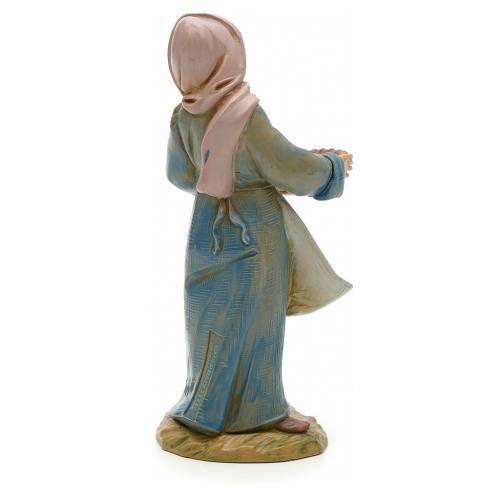 Femme aux olives crèche Fontanini 12 cm s2