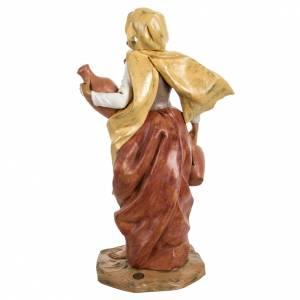 Femme avec amphore crèche Fontanini 45 cm s4
