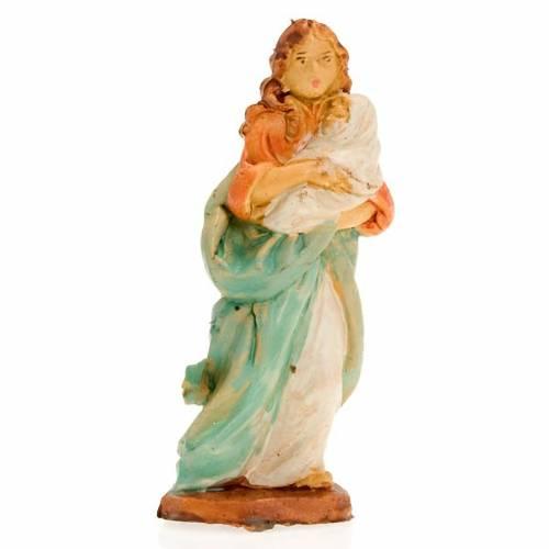 Femme avec enfant bébé, 10 cm s1