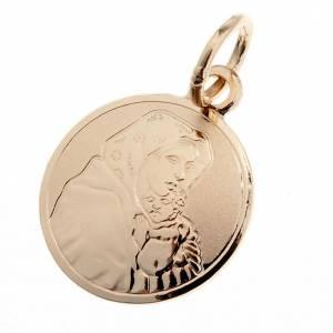 Ferruzzi's Madonna 18k gold medal - 1,00 gr s1