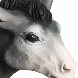 Fiberglas Statuen: Fiberglas Ochse und Esel 60 cm