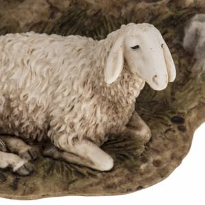 Figurines for Landi nativities, guard with sheep 18cm s5