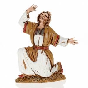 Nativity Scene by Moranduzzo: Figurines for Moranduzzo nativities, astonished man 10cm