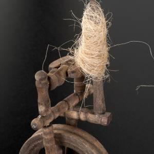 Attrezzi da lavoro presepe: Filatoio della tessitrice 10 x 5