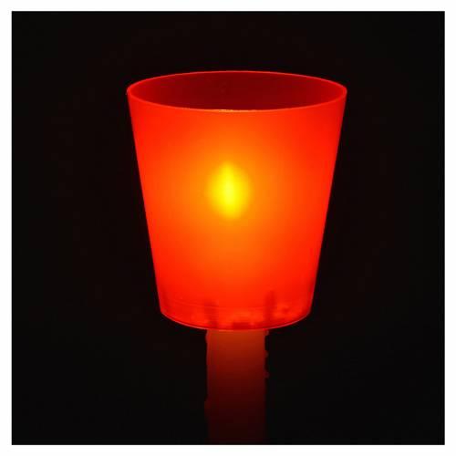 Flambeaux plastikowy kolorowy ( 30 sztuk) s2
