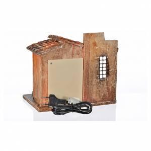 Fontaine électrique en miniature crèche Fontanini s4