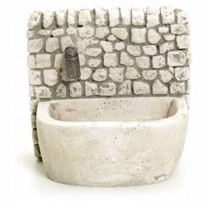 Fontaine en plâtre pour crèche s1