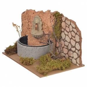 Fontana con pompa elettrica 14x20x12 cm s2