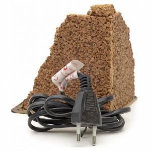Forni e fuochi presepe: Forno a legna presepe ad angolo 14x12x10 cm