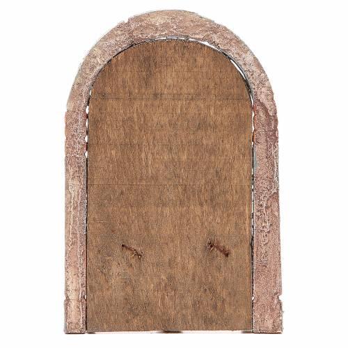 Front Door arched 18x12cm s3