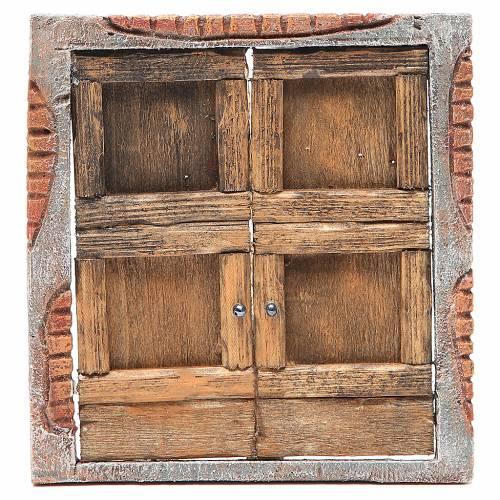Front door for nativity 18x15cm s1