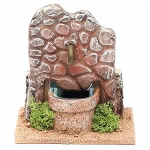 Fuentes: Fuente belén en terracota 13x12x12 cm