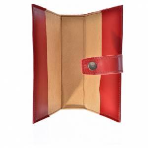 Funda Biblia CEE grande cuero rojo Virgen Niño s3