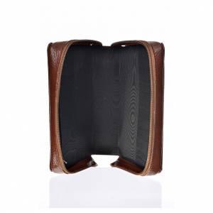 Funda Biblia CEE grande marrón simil cuero Pantocrátor s3