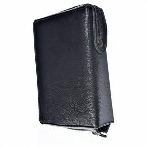 Funda Biblia CEE grande simil cuero negro Virgen de Kiko s2