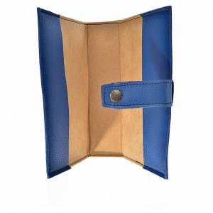 Funda Biblia CEE grande simil cuero V. Kiko azul s3