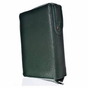 Fundas Biblia de Jerusalén Letra Grande: Funda Biblia Jerusalén Letra Grande ESPAÑA verde de simil cuero Sagrada Familia