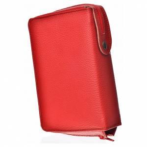 Fundas Biblia de Jerusalén Letra Grande: Funda Biblia Jerusalén Letras Grandes ESPAÑA roja simil cuero Pantocrator