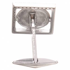 Gemelli gioielli argento 800 Simbolo PAX 1,7x1,7 cm s2