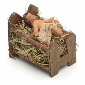 Gesù Bambino 10 cm presepe Napoli s1
