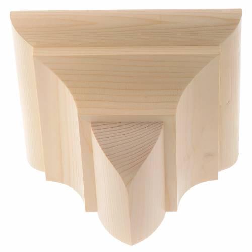 Wandkonsole Holz gotische wandkonsole aus wachsholz verfauf auf holyart