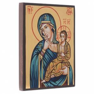 Handgemalte rumänische Ikonen: Gottesmutter Paramythia