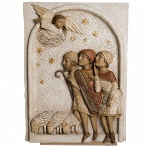 Grande crèche d'Autun blanche pierre Bethléem s2