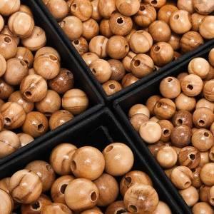 Rosari Fai Da Te: Grani in olivo tondo