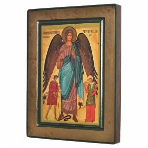 Greek Serigraphy icon, Saint Raphael s2